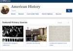 Image link to American History Online