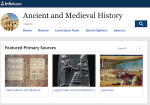 Image link to Ancient & Medieval History