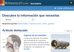 Britannica Escolar screenshot