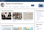 Image link to Modern World History Online