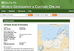 Image link to World Geography and Culture Online