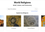 ABC-CLIO World Religions screenshot