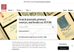 Image link to JSTOR Secondary Schools Collection