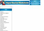 Image link to Super Teacher Worksheets