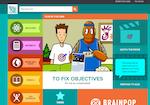 Image link to BrainPop Francais