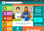 BrainPop Francais screenshot