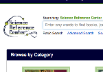 Science Reference Center screenshot