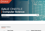 Gale OneFile: Computer Science screenshot