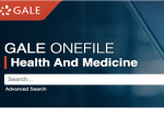 Gale OneFile: Health and Medicine screenshot