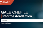Gale OneFile: Informe Académico screenshot
