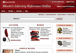 Image link to Bloom's Literary Reference Online